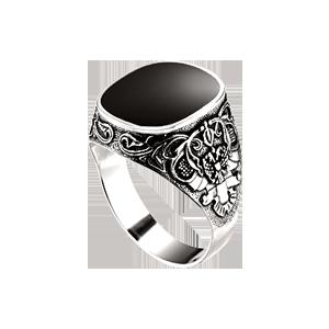 Серебряные перстни, кольца для мужчин, Купить перстень из серебра, печатки  для мужчин, купить мужское кольцо, печатку из серебра в интернет магазине  Серебряный Мир | 300x300