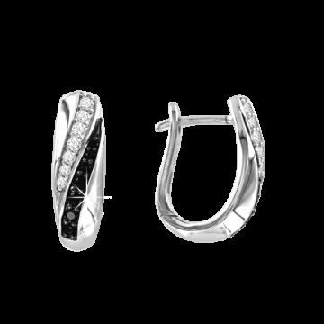 Ohrringe aus 925er Sterling Silber mit Zirkonia