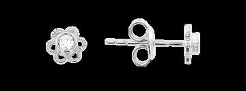 Ohrstecker aus Silber 925° mit Zirkonia