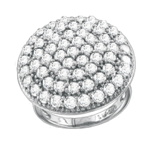 Damen-ring aus 925er Sterling Silber mit Zirkonia