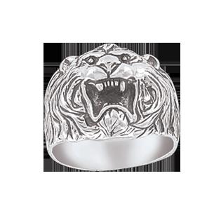 Man´s silver seal ring