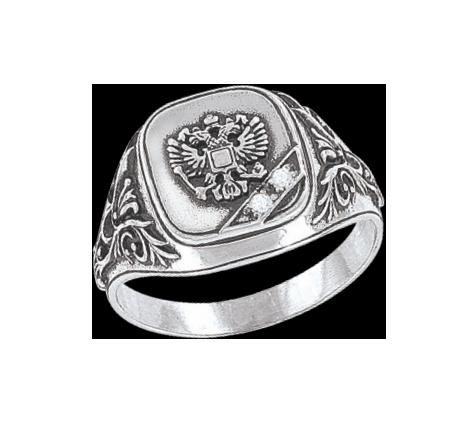 Herrenring  - 925er Sterling Silber mit Zirkonia