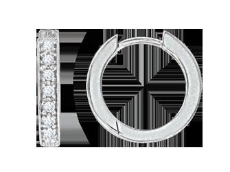 Creolen aus 925er Sterling Silber mit Zirkonia d1457a6a72