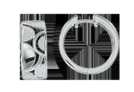 Creolen aus 925er Sterling Silber