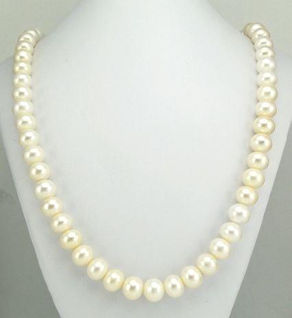 echte Perlenkette