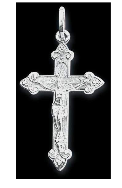 Kreuz Anhänger - 925er Sterling Silber
